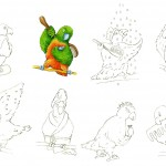 Character Development of Maggie the Parrot