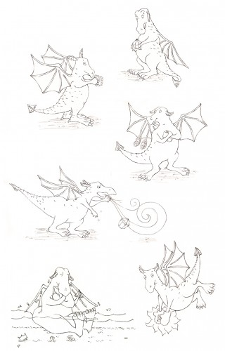Character Development of Denzel the Dragon