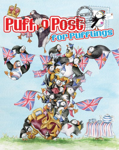 Competition Cover for Puffin Post for Pufflings