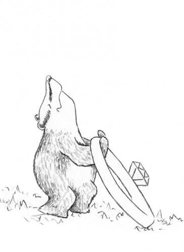 Boris the Badger. A Narrative Behind an Engagement Card Design
