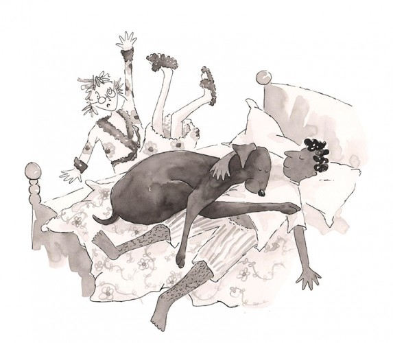 Geronimo The Dog who Thinks He's a Cat is Available to buy from www.wackybeebooks.com