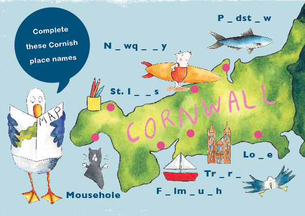 Cornish Place Names