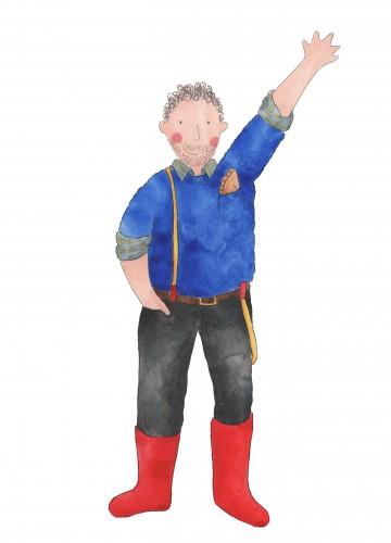 Character development for Cornish theatre company 'Cousin Jack'