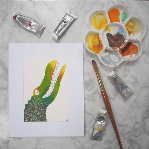 Marty the Crocodile Available to buy in my Shop
