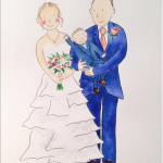 Illustrated Wedding Present